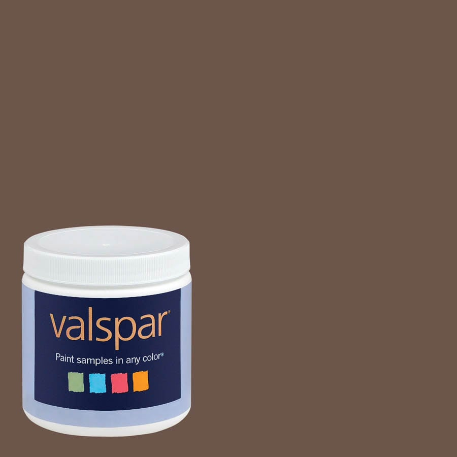 Eddie Bauer Colors By Valspar 8 Oz Coffee Bean Interior Satin Paint