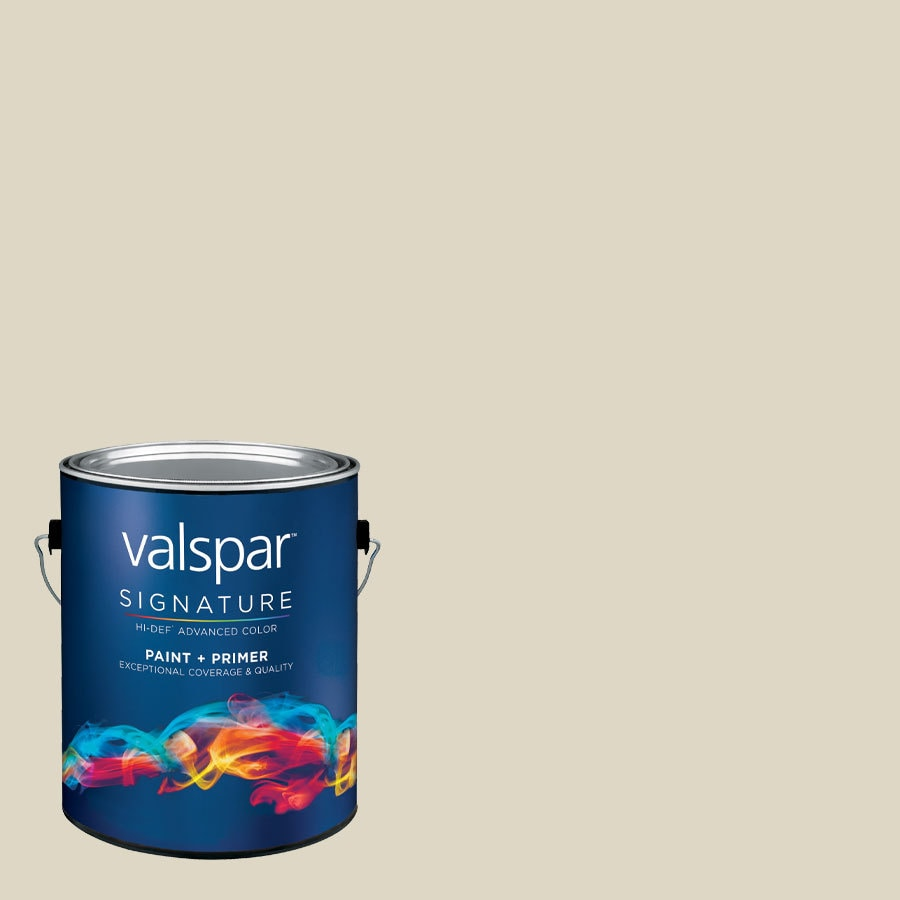 Creative Ideas for Color by Valspar Gallon Size Container Interior Eggshell Pre-Tinted Foggy Mirror Latex-Base Paint and Primer in One (Actual Net Contents: 129.12-fl oz)