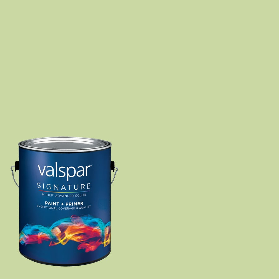 Creative Ideas for Color by Valspar 1-Gallon Interior Semi-Gloss Shade Green Latex-Base Paint and Primer in One