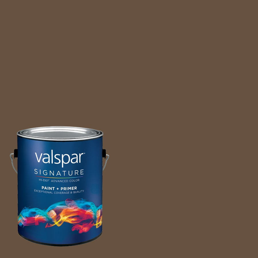 Creative Ideas for Color by Valspar Gallon Size Container Interior Semi-Gloss Pre-Tinted Leather Chair Latex-Base Paint and Primer in One (Actual Net Contents: 127.85-fl oz)