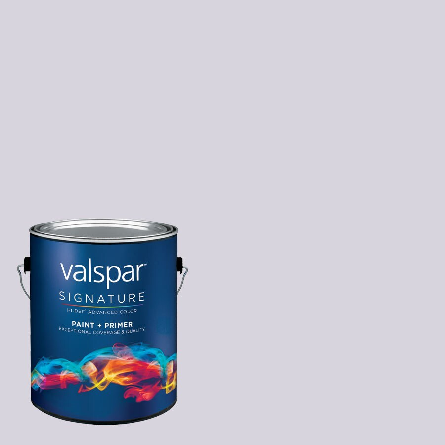 Creative Ideas for Color by Valspar Gallon Size Container Interior Semi-Gloss Pre-Tinted Sweet Orchid Latex-Base Paint and Primer in One (Actual Net Contents: 130.25-fl oz)