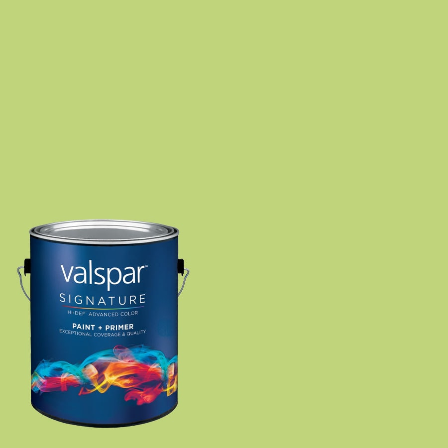 Creative Ideas for Color by Valspar 1-Gallon Interior Semi-Gloss Bamboo Shoot Latex-Base Paint and Primer in One