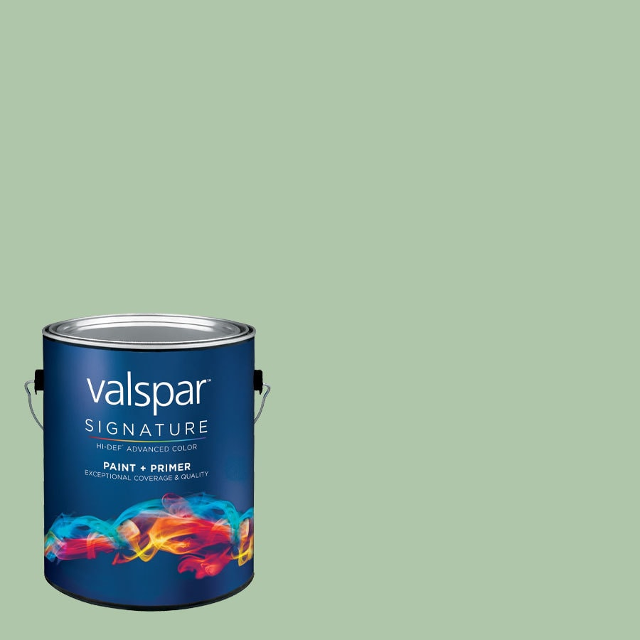 Creative Ideas for Color by Valspar 1-Gallon Interior Semi-Gloss Juniper Breeze Latex-Base Paint and Primer in One