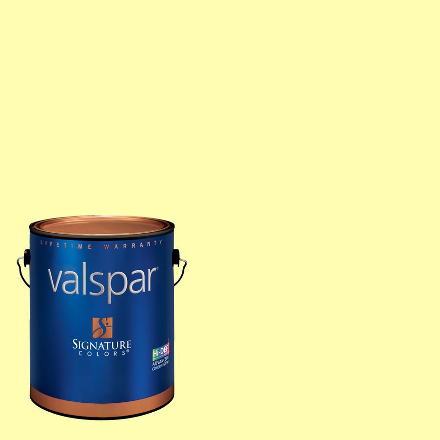 Creative Ideas for Color by Valspar Gallon Size Container Interior Semi-Gloss Pre-Tinted Star Bright Latex-Base Paint and Primer in One (Actual Net Contents: 127.52-fl oz)