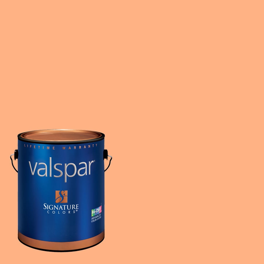 Creative Ideas for Color by Valspar 1-Gallon Interior Eggshell Soft Coral Latex-Base Paint and Primer in One