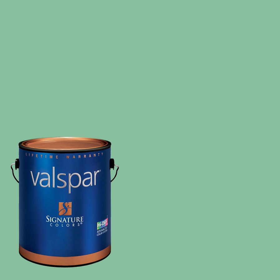 Creative Ideas For Color By Valspar 1 Gallon Interior Eggshell Green With Envy Latex Base Paint And Primer In One