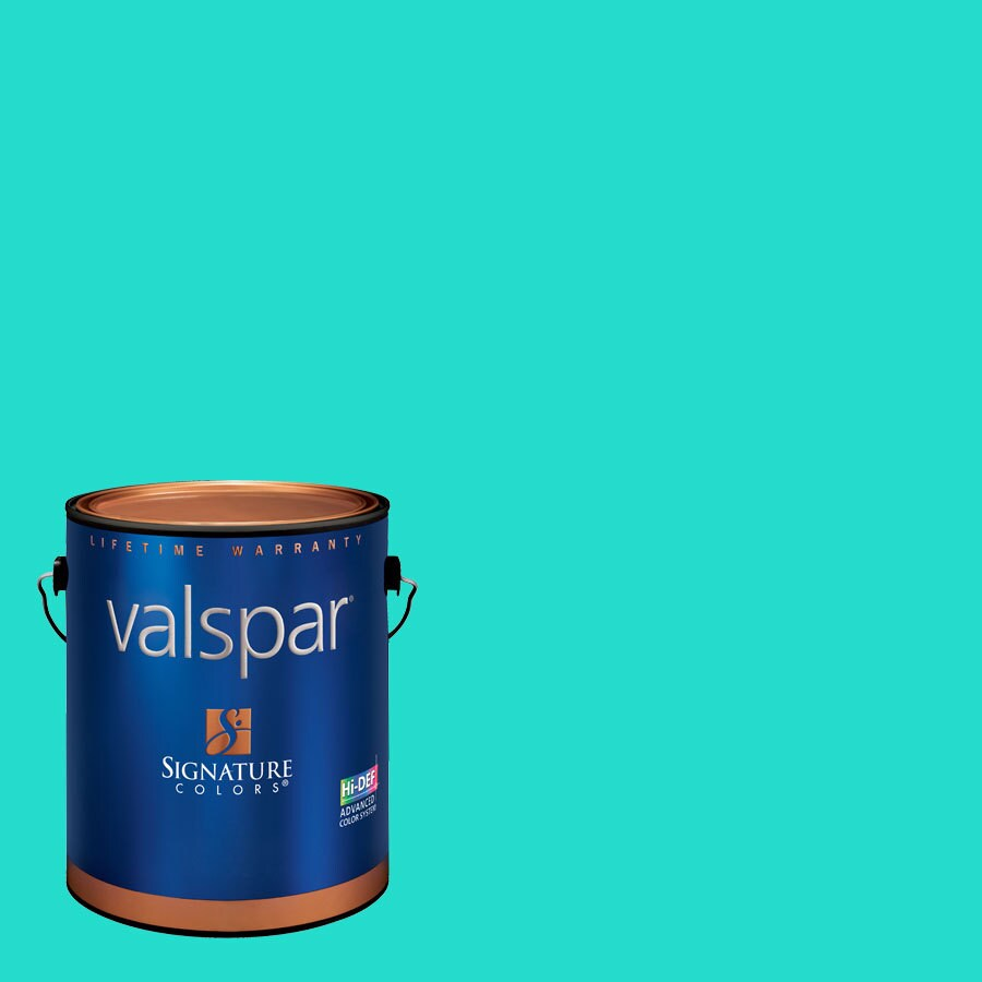 Creative Ideas for Color by Valspar 1-Gallon Interior Eggshell Sprinkler Latex-Base Paint and Primer in One