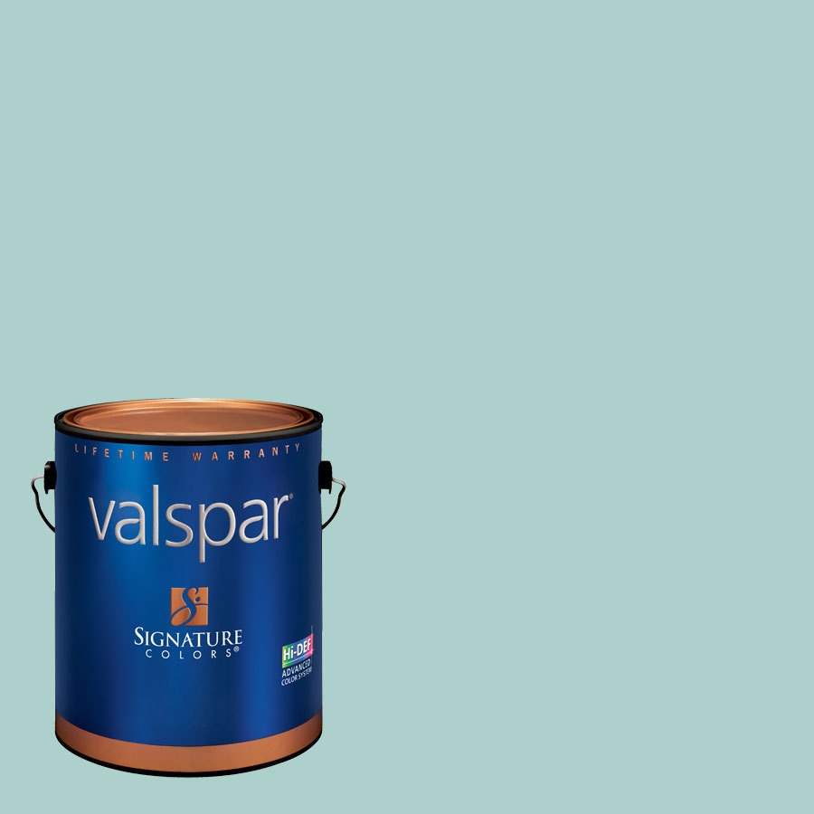 Creative Ideas for Color by Valspar 1-Gallon Interior Satin Peaceful Latex-Base Paint and Primer in One