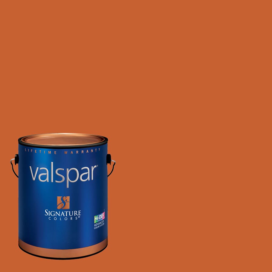 Creative Ideas for Color by Valspar Gallon Size Container Interior Satin Pre-Tinted Earthen Rose Latex-Base Paint and Primer in One (Actual Net Contents: 127.58-fl oz)