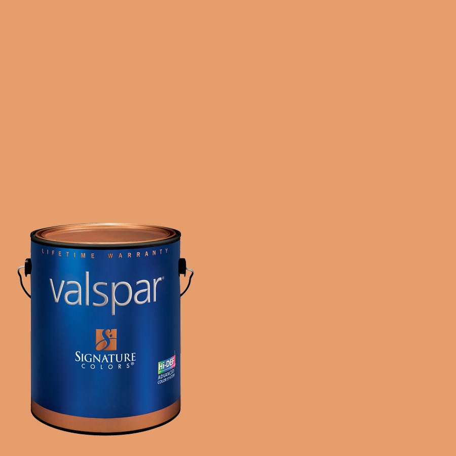 Creative Ideas for Color by Valspar 1-Gallon Interior Semi-Gloss Chiminea Latex-Base Paint and Primer in One