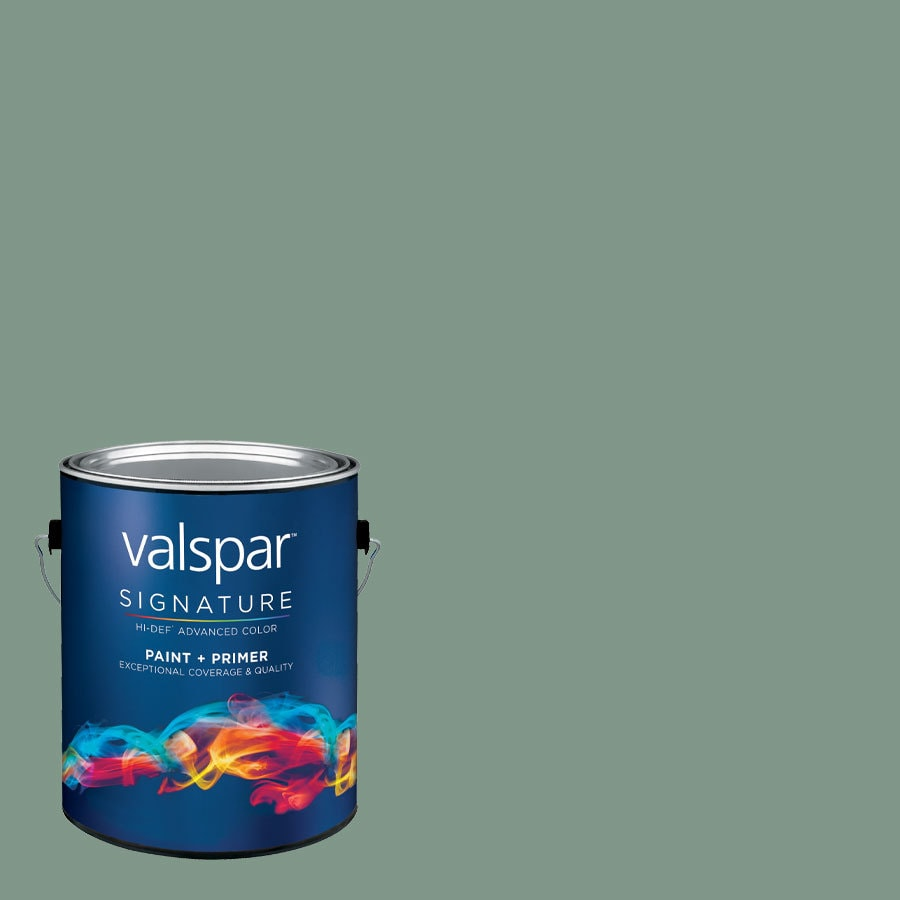 allen + roth Colors by Valspar 1-Gallon Interior Eggshell Sea Port Latex-Base Paint and Primer in One