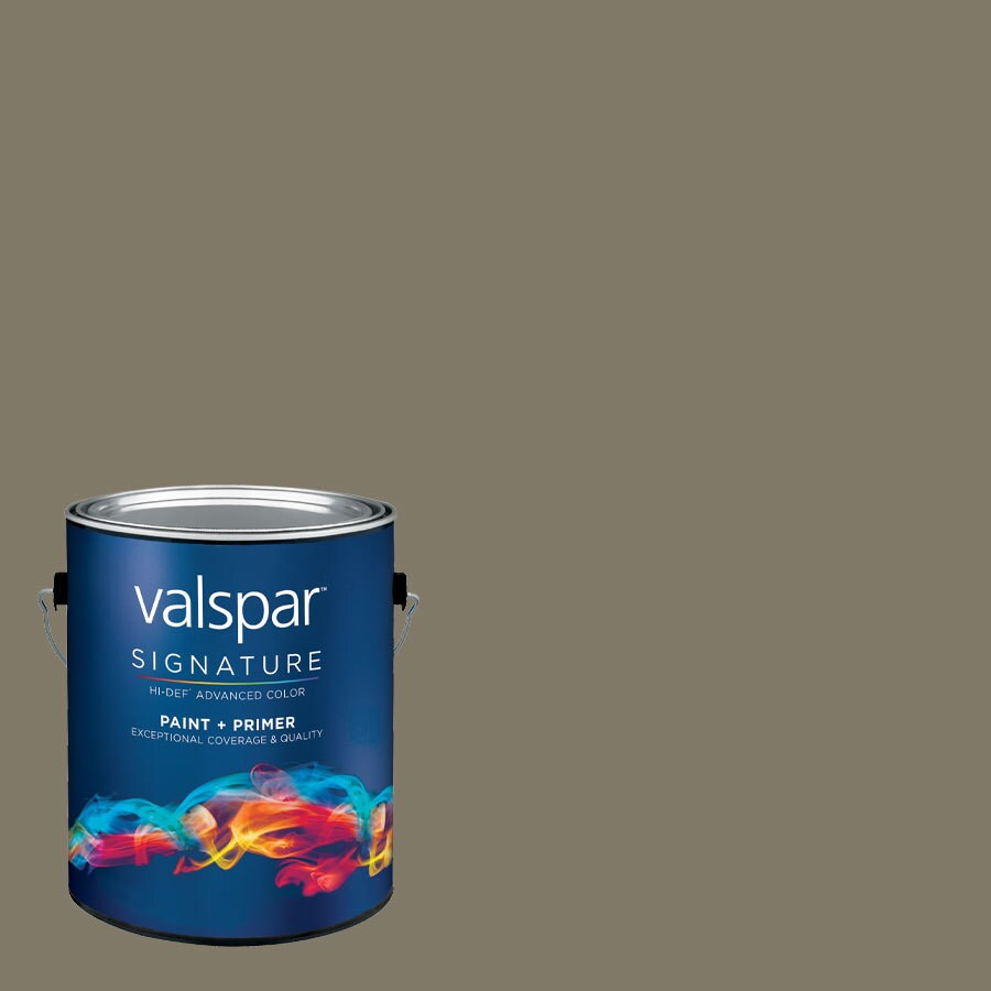 allen + roth Colors by Valspar Gallon Size Container Interior Eggshell Pre-Tinted Man Cave Latex-Base Paint and Primer in One (Actual Net Contents: 129.78-fl oz)
