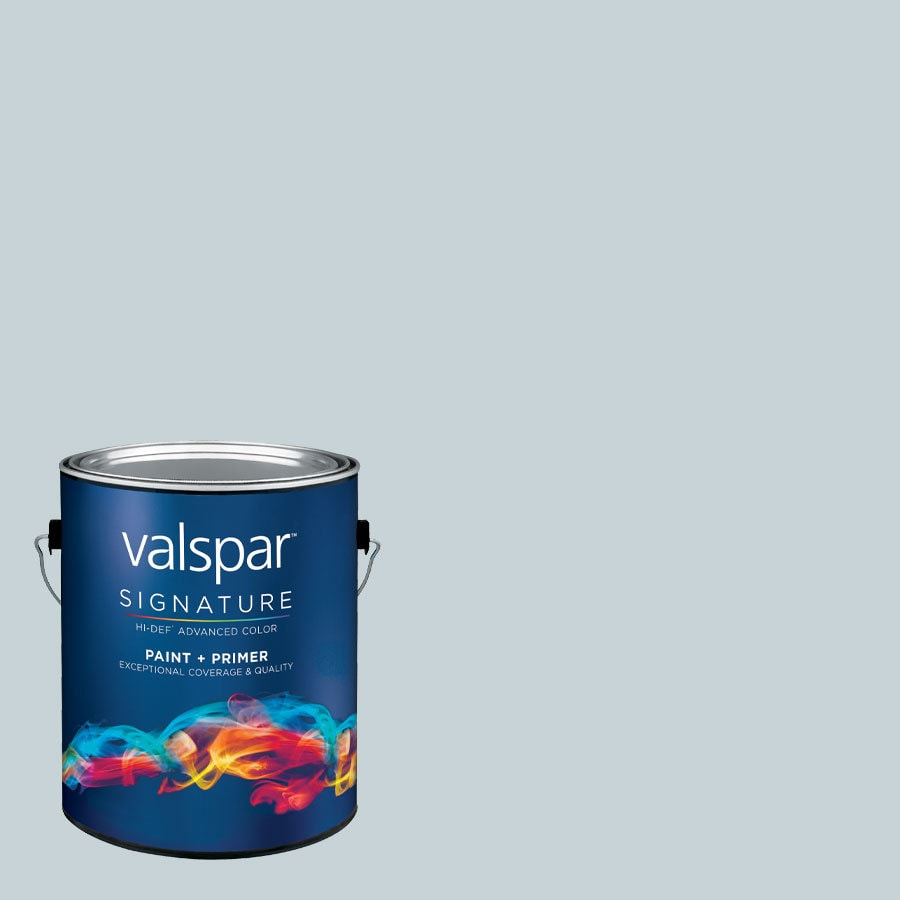 allen + roth Colors by Valspar Gallon Size Container Interior Eggshell Pre-Tinted Sky Light View Latex-Base Paint and Primer in One (Actual Net Contents: 127.54-fl oz)