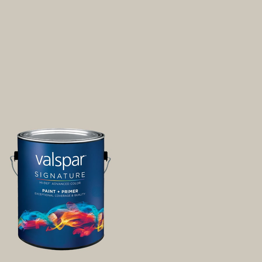 allen + roth Colors by Valspar Gallon Size Container Interior Eggshell Pre-Tinted Shaken Not Stirred Latex-Base Paint and Primer in One (Actual Net Contents: 127.64-fl oz)