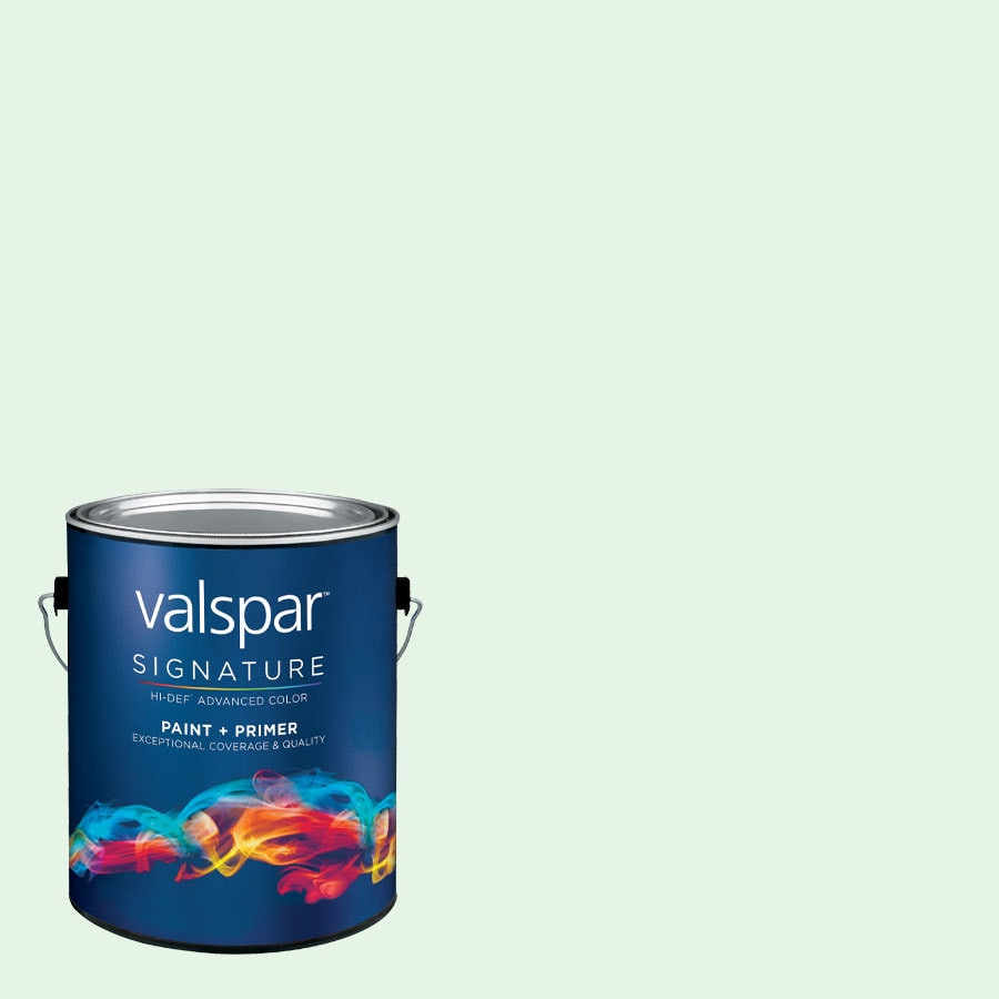 allen + roth Colors by Valspar Gallon Size Container Interior Eggshell Pre-Tinted Morning Jog Latex-Base Paint and Primer in One (Actual Net Contents: 129.05-fl oz)