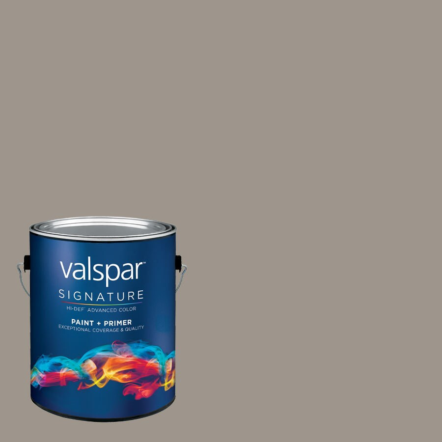 allen + roth Colors by Valspar 1-Gallon Interior Satin Bell Tower Stone Latex-Base Paint and Primer in One