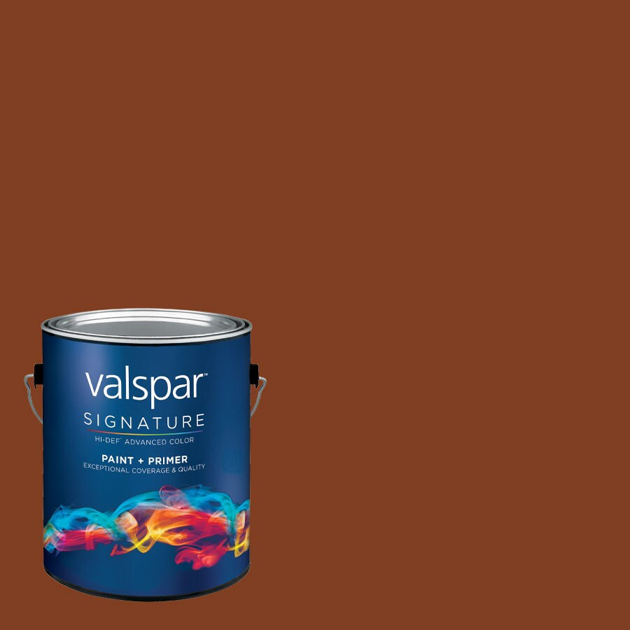 allen + roth Colors by Valspar Gallon Size Container Interior Satin Pre-Tinted Caffeine Nation Latex-Base Paint and Primer in One (Actual Net Contents: 119.87-fl oz)