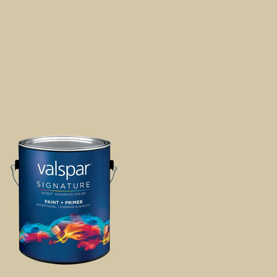 allen + roth Colors by Valspar Gallon Size Container Interior Satin Pre-Tinted Rock Latex-Base Paint and Primer in One (Actual Net Contents: 127.39-fl oz)