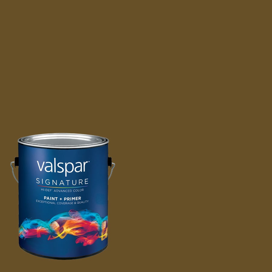 allen + roth Colors by Valspar Gallon Size Container Interior Semi-Gloss Pre-Tinted Clock Tower Latex-Base Paint and Primer in One (Actual Net Contents: 123.53-fl oz)