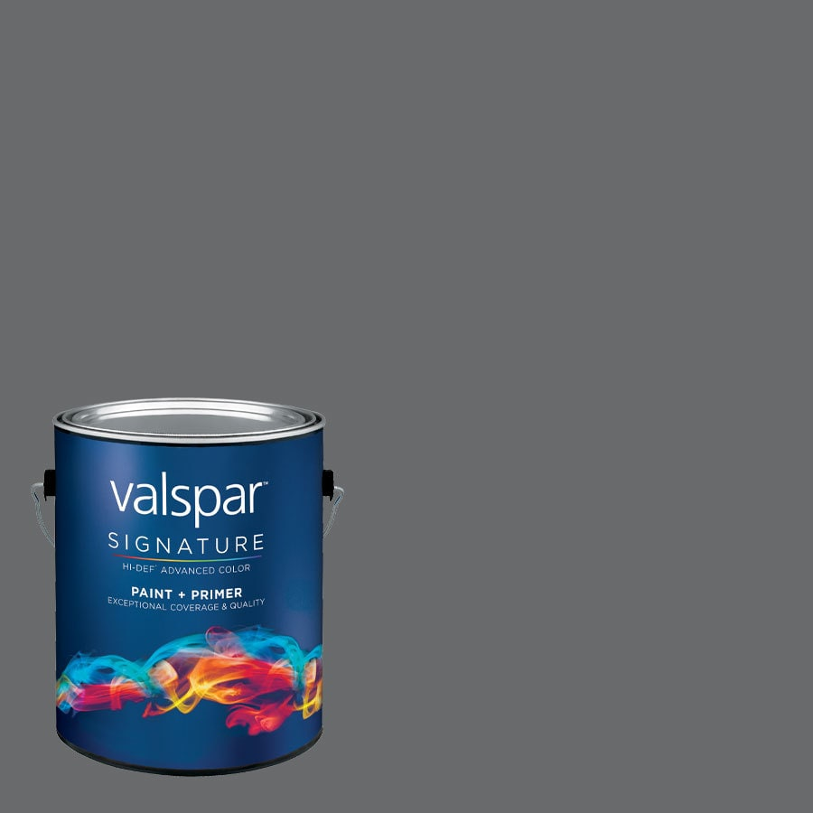 allen + roth Colors by Valspar Gallon Size Container Interior Semi-Gloss Pre-Tinted Blind Date Latex-Base Paint and Primer in One (Actual Net Contents: 127.7-fl oz)