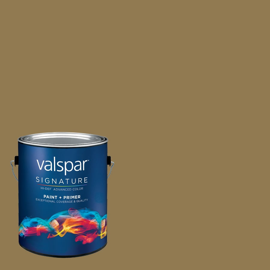 allen + roth Colors by Valspar Gallon Size Container Interior Semi-Gloss Pre-Tinted The Heights Latex-Base Paint and Primer in One (Actual Net Contents: 123.47-fl oz)
