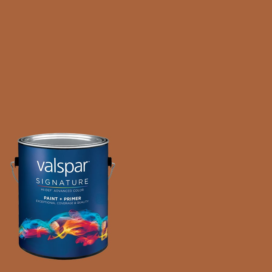 allen + roth Colors by Valspar Gallon Size Container Interior Semi-Gloss Pre-Tinted Port Latex-Base Paint and Primer in One (Actual Net Contents: 123.55-fl oz)