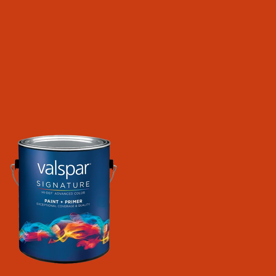 allen + roth Colors by Valspar Gallon Size Container Interior Semi-Gloss Pre-Tinted Vip Latex-Base Paint and Primer in One (Actual Net Contents: 120.28-fl oz)