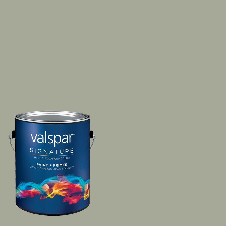 Allen Roth Colors By Valspar Gallon Interior Satin Paint And Primer In One Color