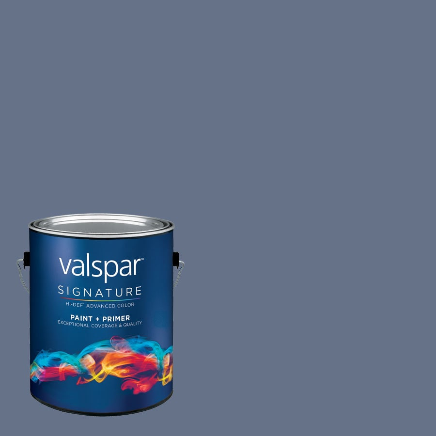 allen + roth Colors by Valspar Gallon Size Container Interior Satin Pre-Tinted Presidential Suite Latex-Base Paint and Primer in One (Actual Net Contents: 127.35-fl oz)