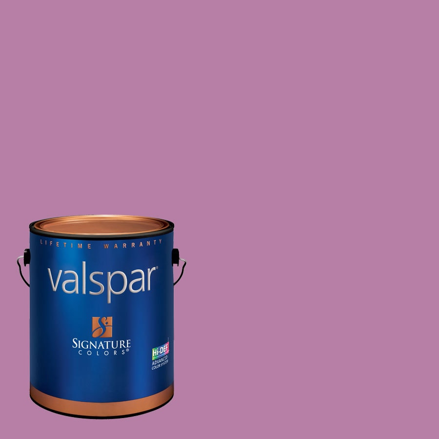 Valspar Purple Stripe Satin Latex Interior Paint and Primer in One (Actual Net Contents: 126.51-fl oz)