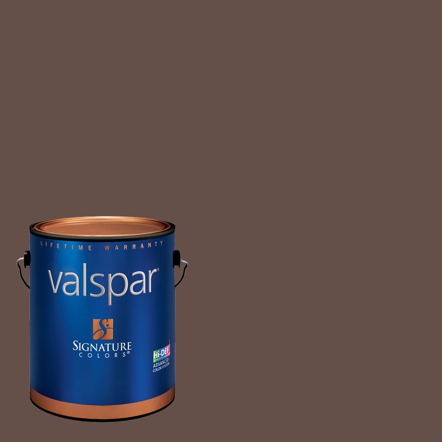 Valspar Cliveden Virginia Soil Semi-Gloss Latex Interior Paint and Primer in One (Actual Net Contents: 129.2-fl oz)