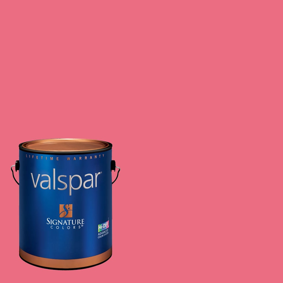 Valspar Hint Of Cherry Semi-Gloss Latex Interior Paint and Primer in One (Actual Net Contents: 129.4-fl oz)