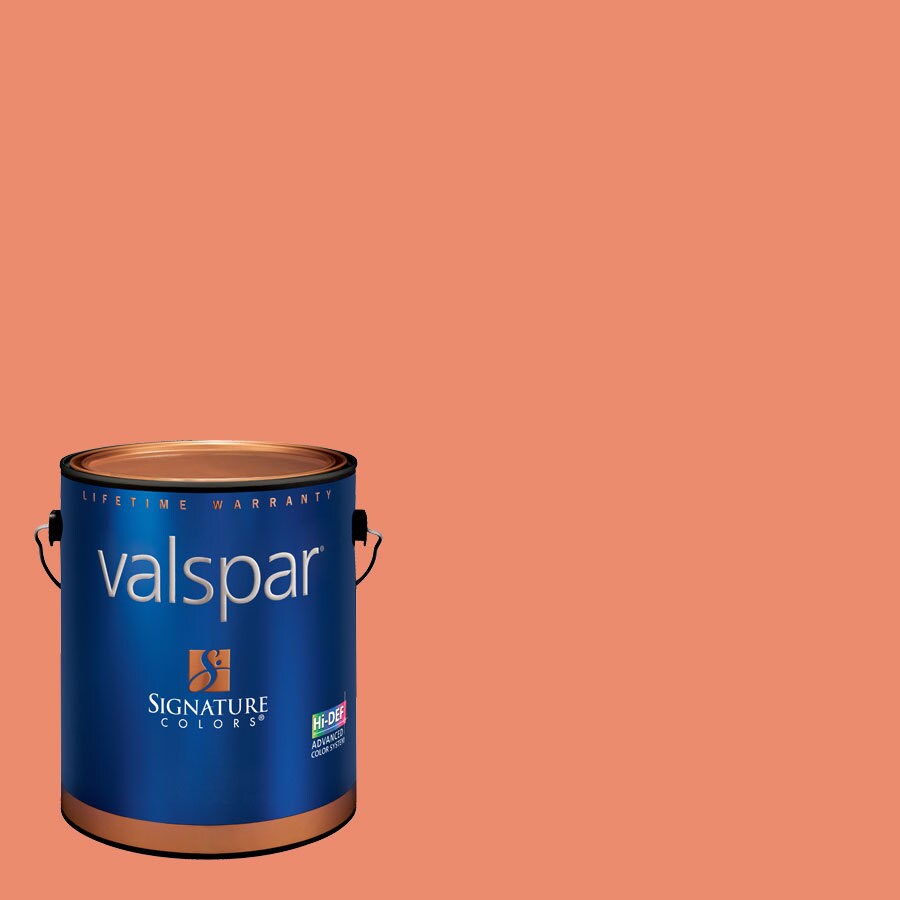 Valspar Amber Rose Satin Latex Interior Paint and Primer in One (Actual Net Contents: 128.09-fl oz)
