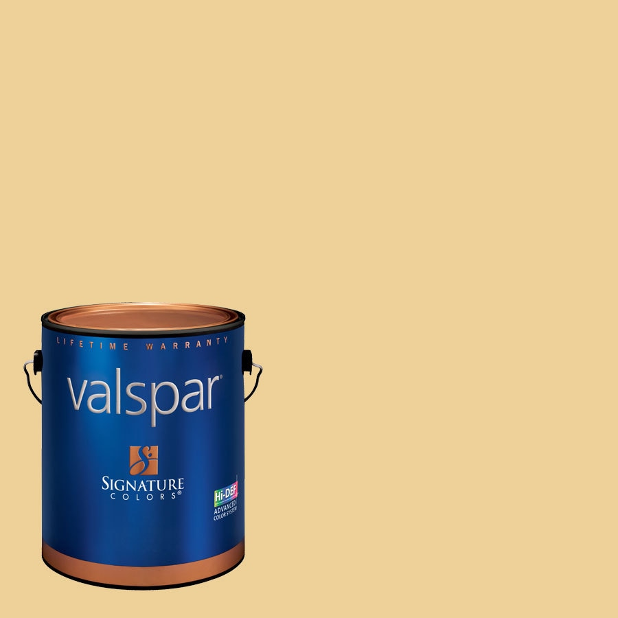 Valspar 1-Gallon Interior Satin Filoli Antique Lace Latex-Base Paint and Primer in One