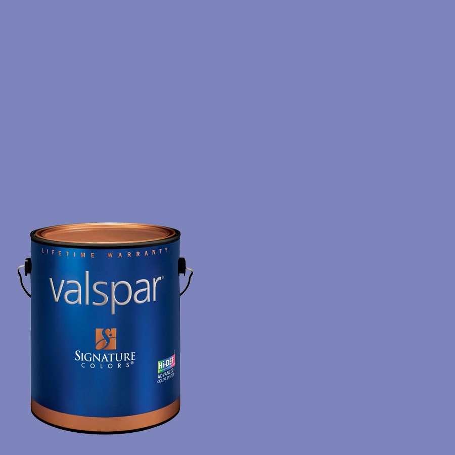 Valspar Simply Purple Semi-Gloss Latex Interior Paint and Primer in One (Actual Net Contents: 126.76-fl oz)