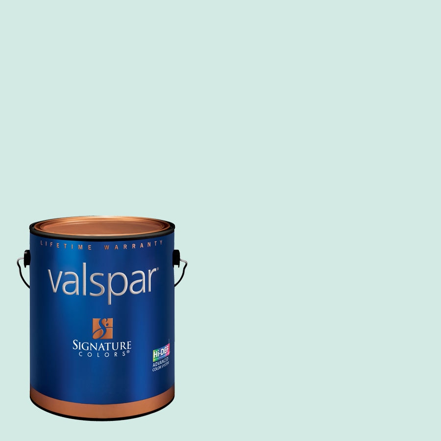 Valspar Bay Mist Eggshell Latex Interior Paint and Primer in One (Actual Net Contents: 126.95-fl oz)