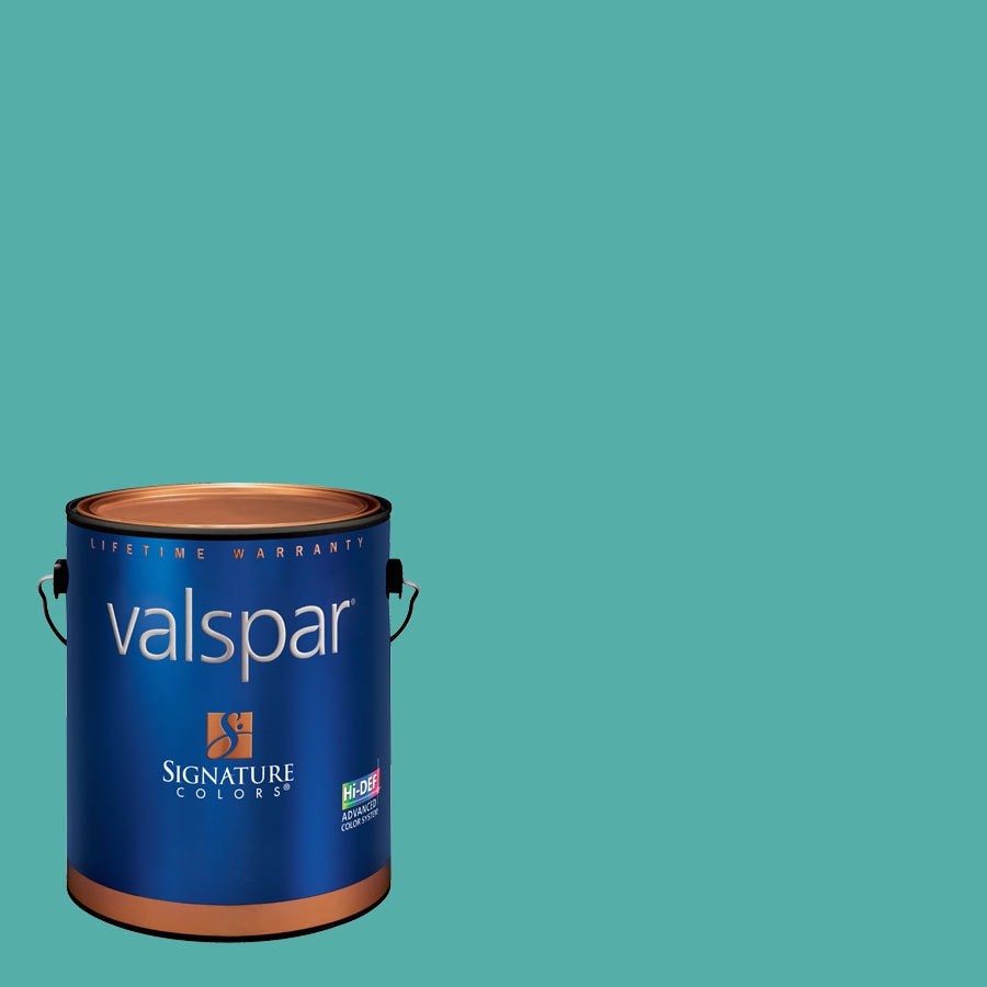 Valspar 1-Gallon Interior Semi-Gloss Twilight Meadow Latex-Base Paint and Primer in One