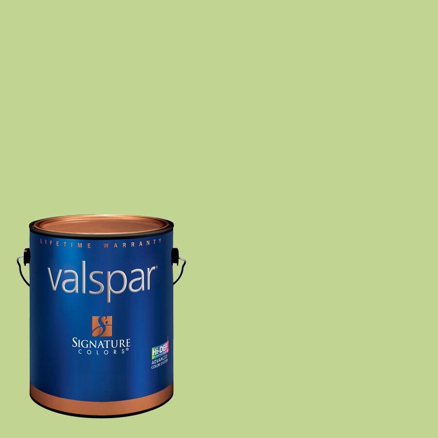Valspar 1-Gallon Interior Semi-Gloss Crocodile Smile Latex-Base Paint and Primer in One
