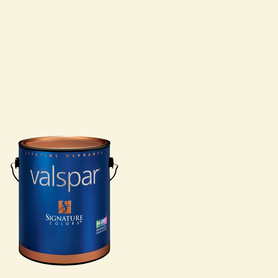 Valspar Cream Delight Matte Latex Interior Paint and Primer in One (Actual Net Contents: 126.68-fl oz)