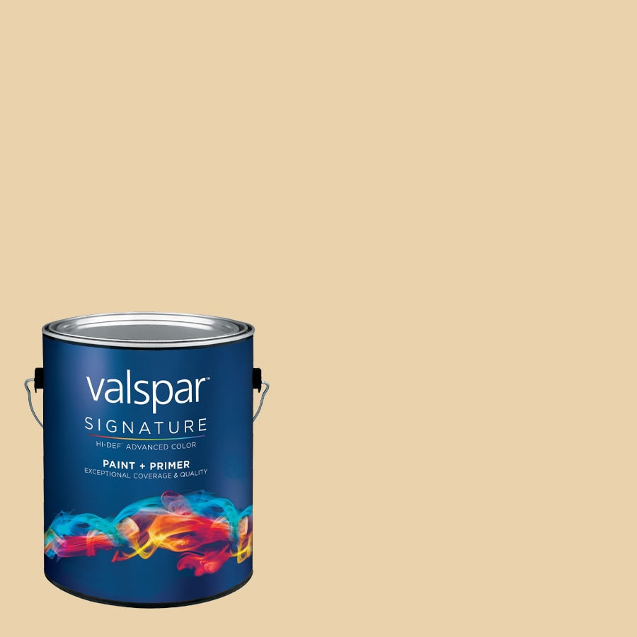 Valspar Desert Fortress Eggshell Latex Interior Paint and Primer in One (Actual Net Contents: 129.68-fl oz)