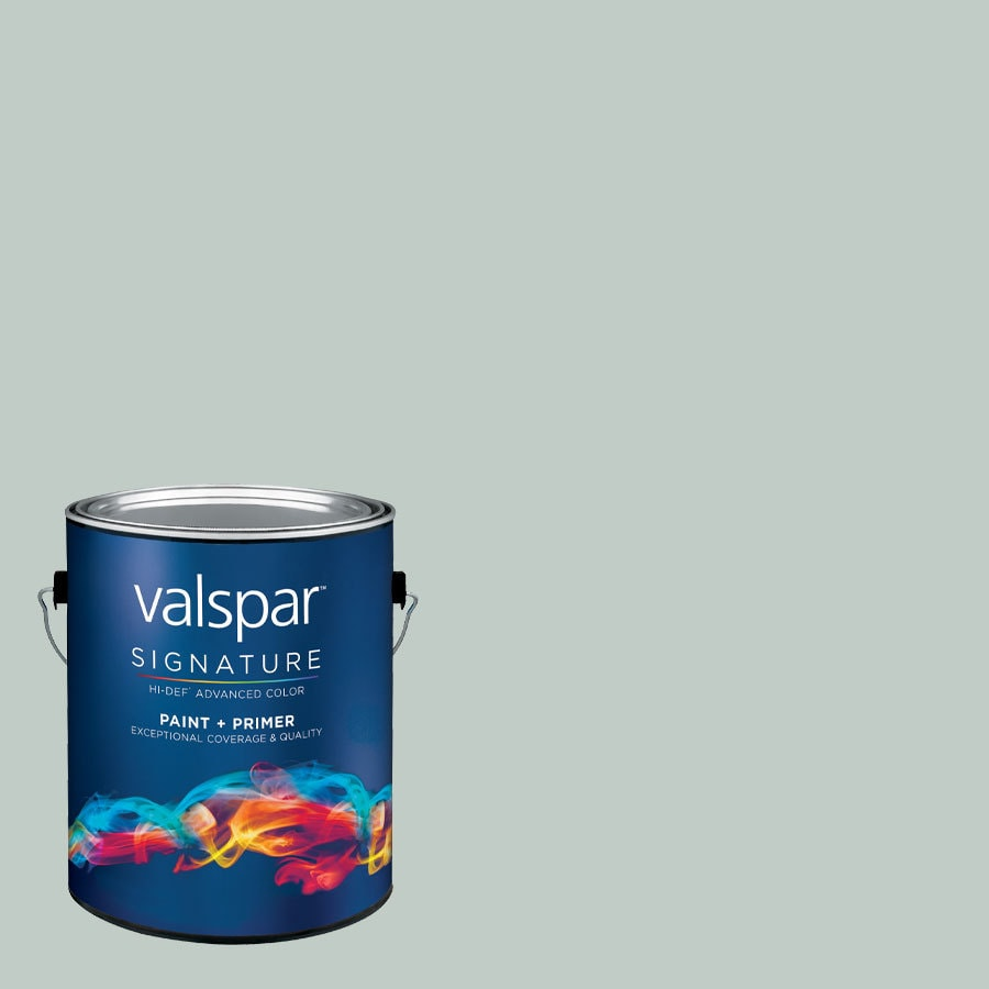 Valspar Sparkling Lake Satin Latex Interior Paint and Primer in One (Actual Net Contents: 126.29-fl oz)