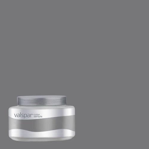 Charcoal Gray Paint >> Valspar Pantone Charcoal Gray Interior Satin Paint Sample