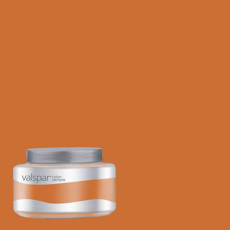 Valspar Pantone Marmalade Interior Satin Paint Sample (Actual Net Contents: 8-fl oz)