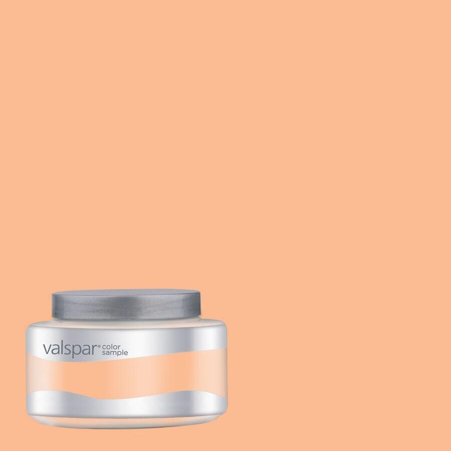Valspar Pantone Apricot Ice Interior Satin Paint Sample (Actual Net Contents: 8.02-fl oz)