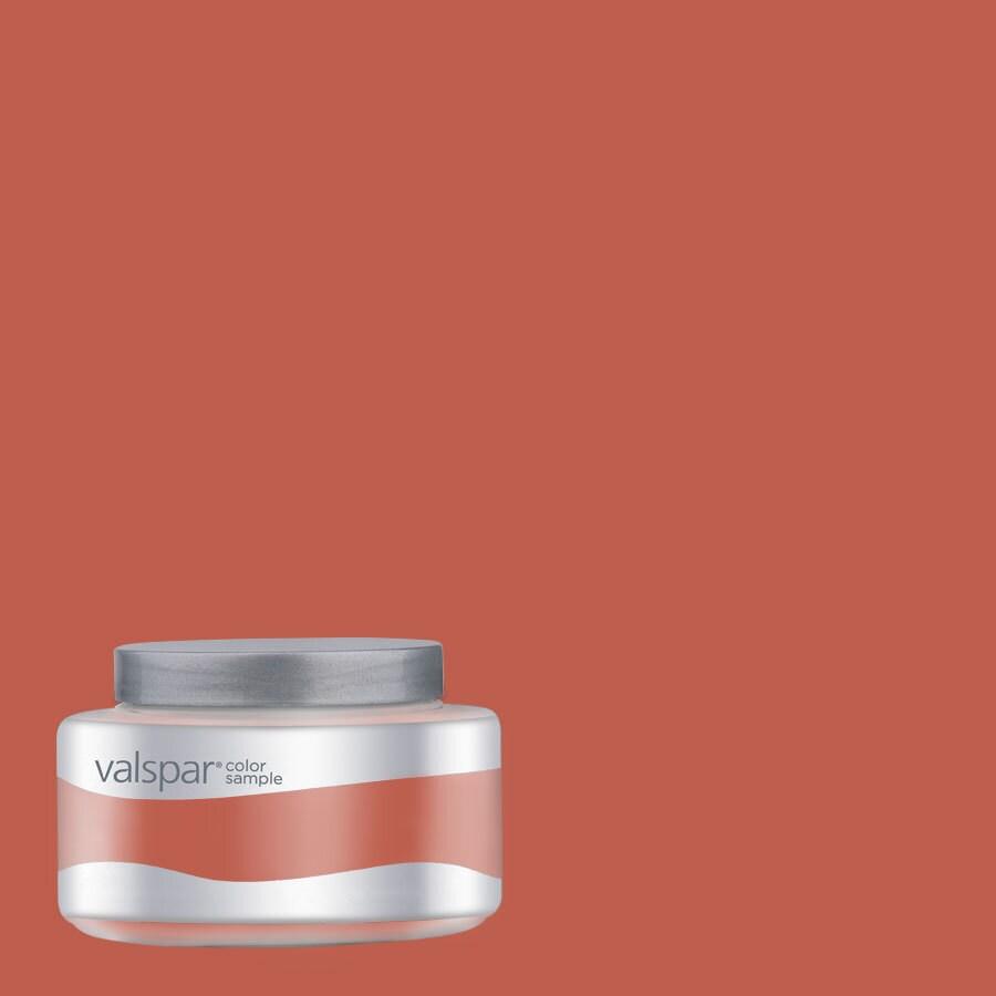 Valspar Pantone Chili Interior Satin Paint Sample (Actual Net Contents: 8-fl oz)