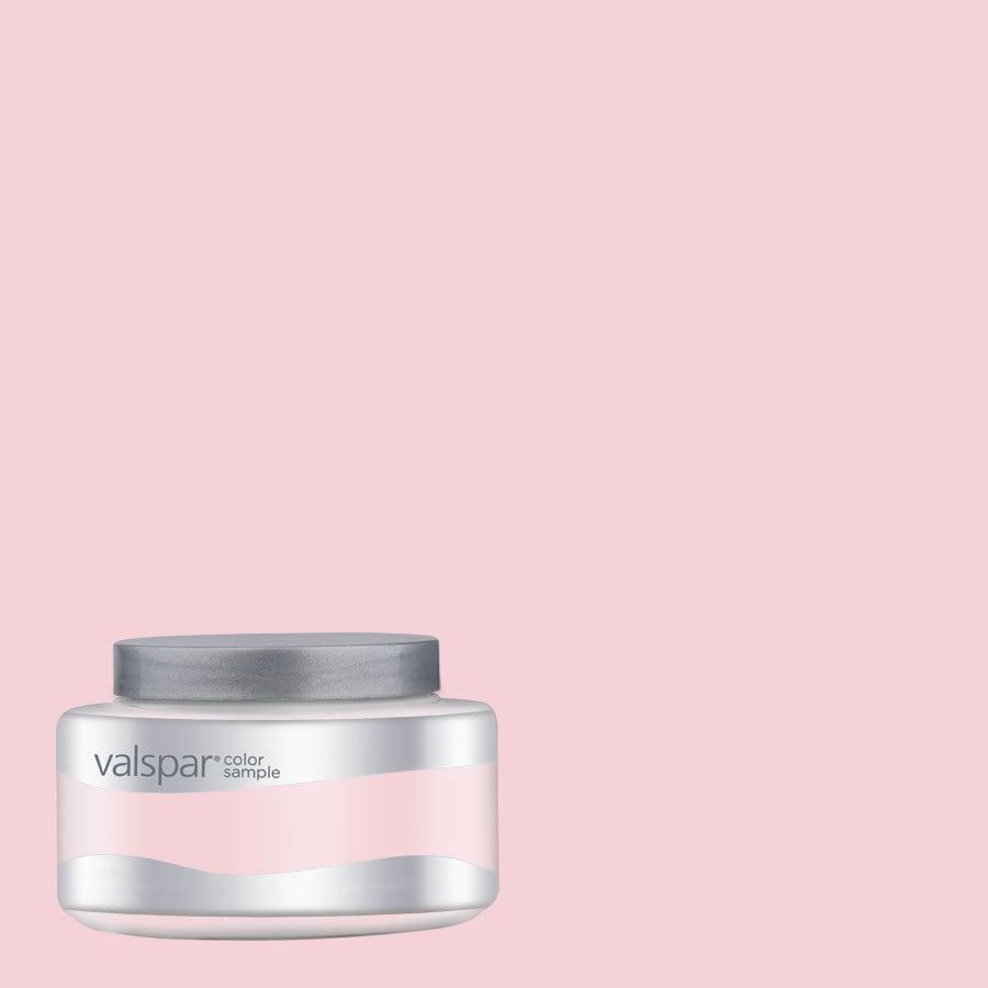 Valspar Pantone Blushing Bride Interior Satin Paint Sample (Actual Net Contents: 8.02-fl oz)