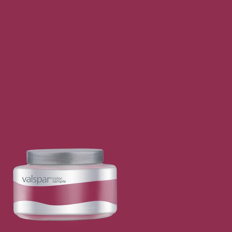 Valspar 8-oz Pantone Sangria Interior Satin Paint Sample