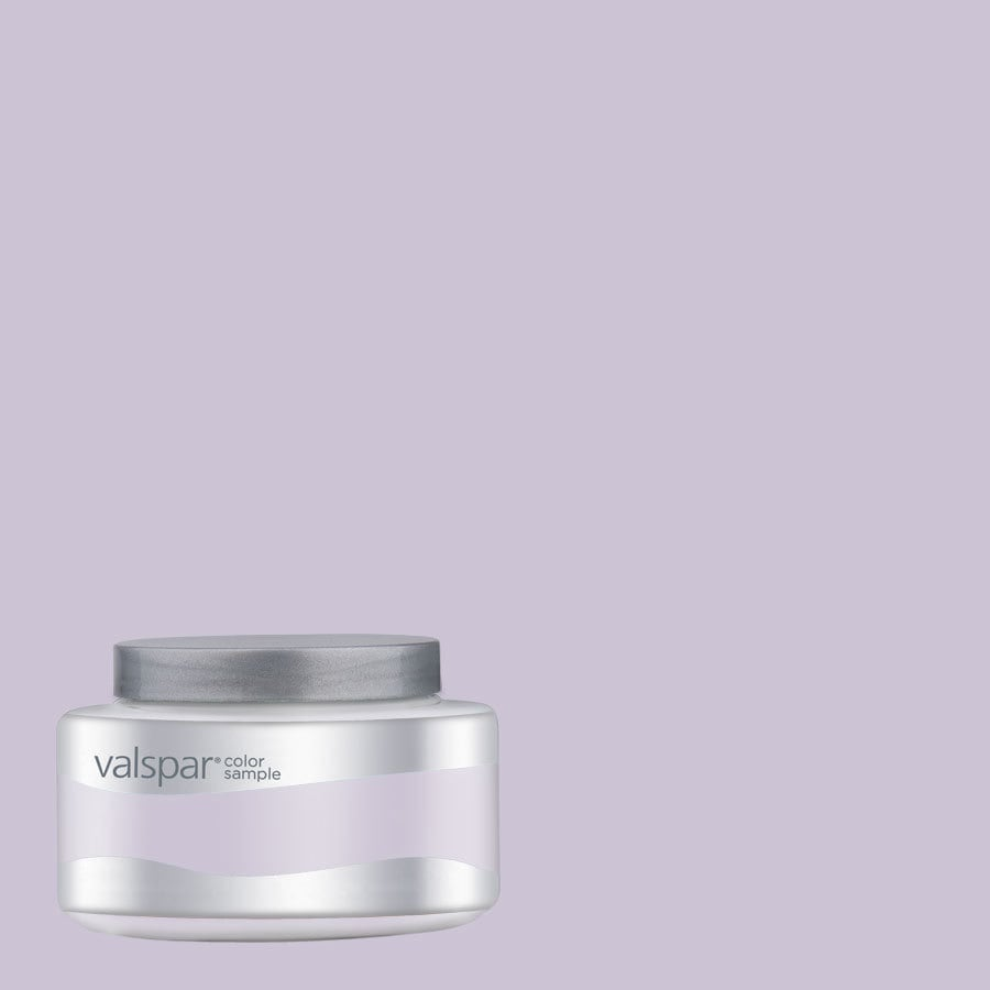 Valspar Pantone Lavender Fog Interior Satin Paint Sample (Actual Net Contents: 8.06-fl oz)