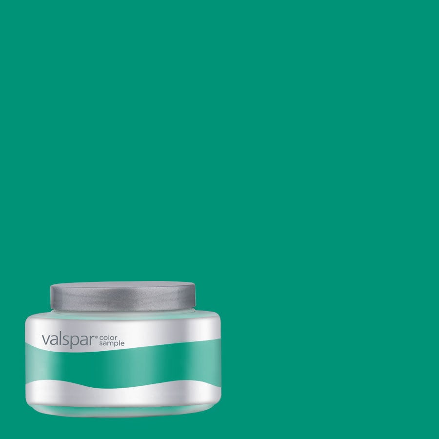 Valspar Pantone Deep Green Interior Satin Paint Sample (Actual Net Contents: 7.99-fl oz)