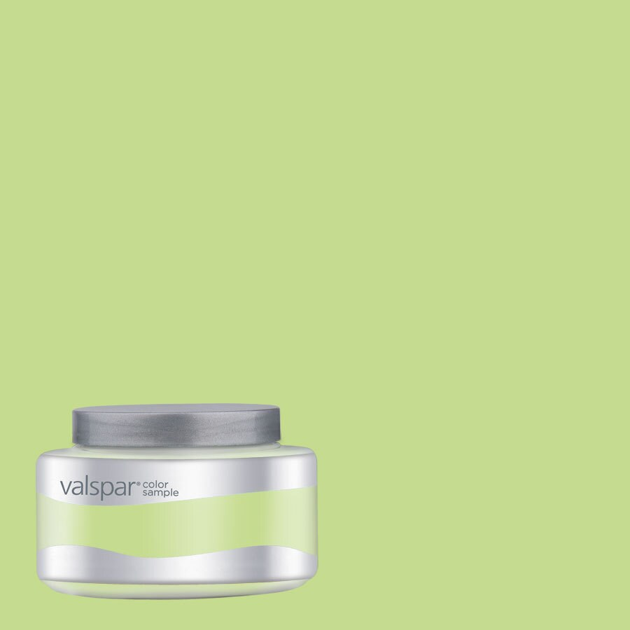 Valspar Pantone Paradise Green Interior Satin Paint Sample (Actual Net Contents: 8.03-fl oz)